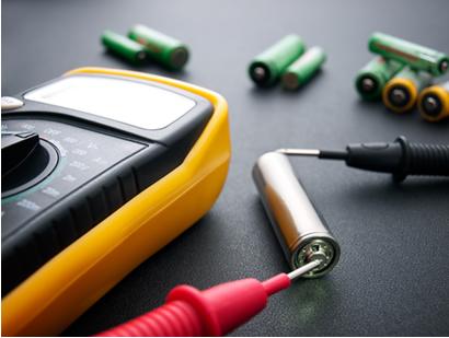 Medindo a força eletromotriz ou diferença de potencial de uma pilha