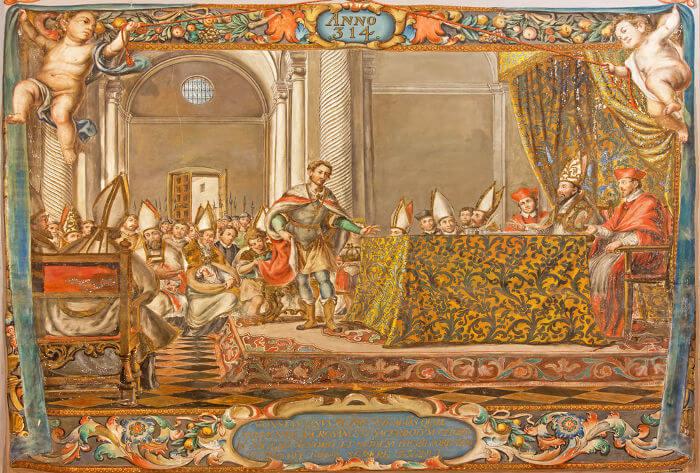 O critério utilizado para determinar a data da Páscoa para os cristãos foi definido durante o Concílio de Niceia, que aconteceu em 325.*