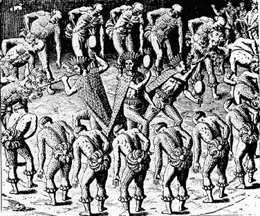 O canibalismo entre os índios tupinambás