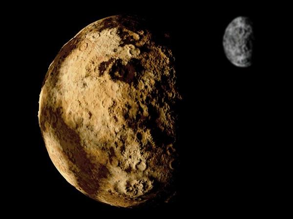 Os planetas considerados anões não possuem massa suficiente para serem considerados planetas