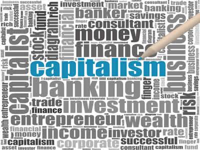 O capitalismo começou a se expandir ao fim da Idade Média, criando inúmeras instituições, como os bancos