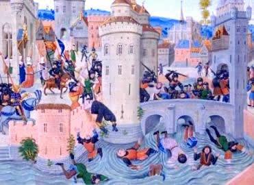 Os conflitos entre nobres e camponeses marcaram a transformação do mundo feudal.