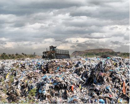 A produção do biogás ajuda a evitar os lixões e a consequente contaminação do solo e as doenças