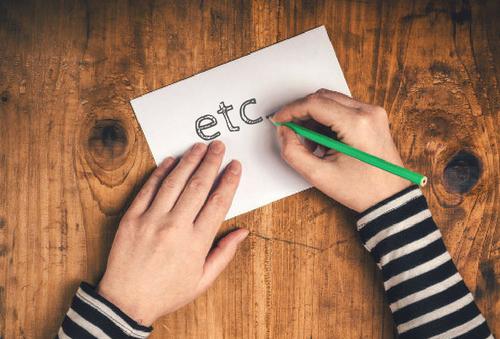 Existem alguns fatores que devem ser considerados na hora de usar o etc.