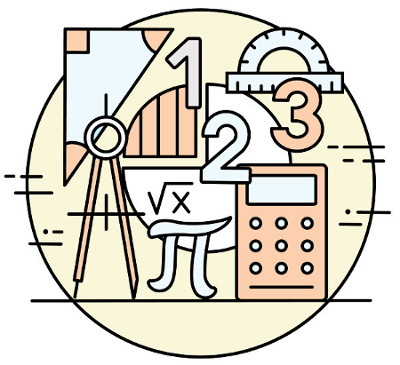 A geometria analítica estuda a geometria por meio de processos algébricos