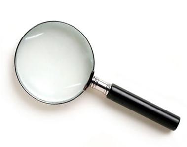 Com uma lupa, a imagem que se forma do objeto é ampliada e direita