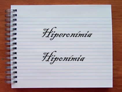 Hiperonímia e Hiponímia integram a semântica – ciência responsável pelo estudo do significado das palavras