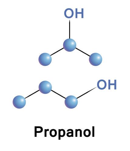Exemplos de compostos considerados isômeros