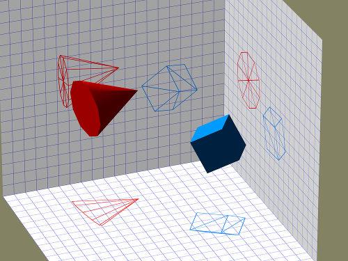 Por meio dos pares e ternos ordenados, é possível localizar objetos no espaço