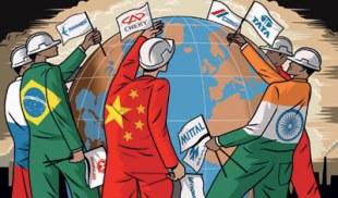 Empresas transnacionais atuam em diferentes pontos da Terra.