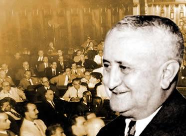 A constituição de 1946 foi uma das principais conquistas do governo de Eurico Gaspar Dutra.