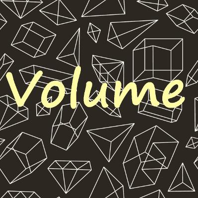 Fórmulas para Cálculo de Volume de sólidos
