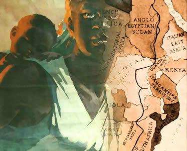 A ação imperialista impôs uma série de violências e atrocidades contra as populações africanas.