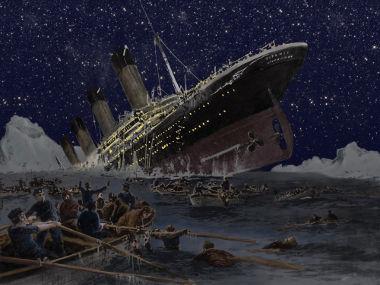 Em 1º de setembro de 1985, foram encontrados os destroços do Titanic no fundo do Oceano Atlântico