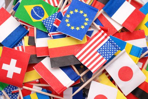 As bandeiras das nações contemporâneas simbolizam, em termos gerais, a história da formação de cada uma dessas nações