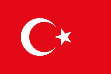 A bandeira da Turquia foi criada com o fim do Império Otomano e apresenta elementos da cultura Islâmica