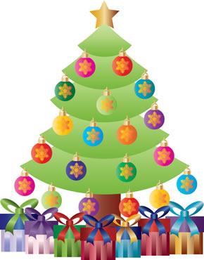A troca de presentes no Natal tornou-se uma tradição.