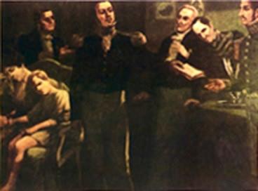 Impotente frente a seus opositores, Dom Pedro I abdicou o trono brasileiro em 1831.