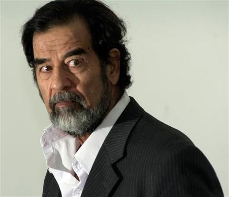Saddam Hussein, o ditador iraquiano
