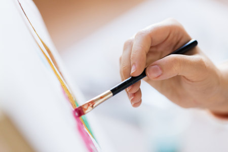 Pintar está relacionado à capacidade motora