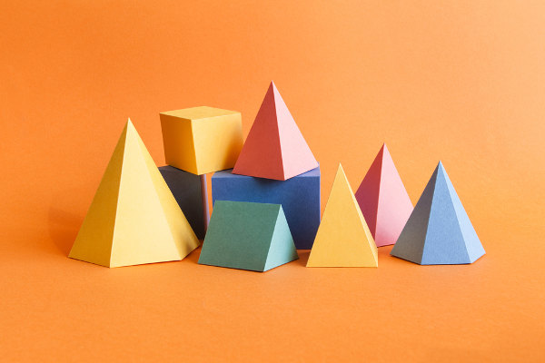Sólidos geométricos mais comuns na Geometria
