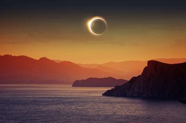 A sombra e a penumbra estão ligadas à ocorrência do eclipse