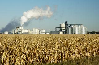 Usina de produção de etanol a partir do milho em Dakota do Sul, Estados Unidos