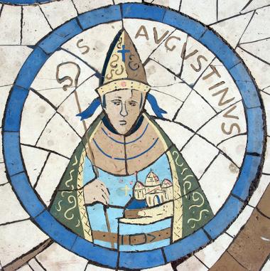 Santo Agostinho, filósofo e teólogo medieval, sistematizou uma concepção cristã da História