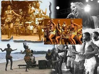 Manifestações culturais em Moçambique