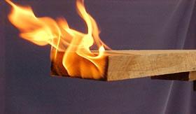 Combustão da madeira: Termoquímica.