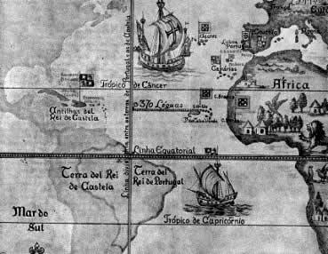 Os limites do Tratado de Tordesilhas: Portugal já havia encontrado as terras brasileiras?