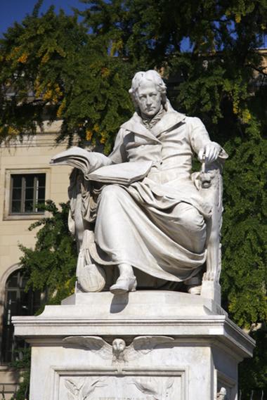 Wilhelm Von Humboldt foi um dos intelectuais que sistematizaram o conhecimento histórico no século XIX *