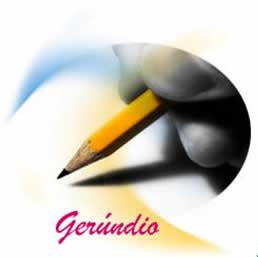 Gerúndio é uma forma nominal que representa uma ação em curso, em andamento