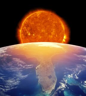 A camada de ozônio protege-nos de radiações nocivas do Sol