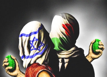 O conflito entre judeus e palestinos marca um dos mais delicados eventos da civilização hebraica.