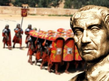 Júlio César: um dos mais poderosos generais de toda história do Império Romano.