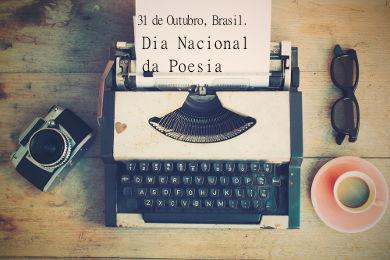 A data de nascimento de Drummond foi a escolhida do calendário brasileiro para a celebração do Dia Nacional da Poesia