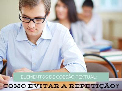 Como evitar a repetição de palavras?