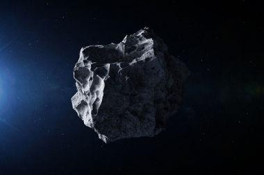 Asteroides são corpos celestes de tamanhos diversos que orbitam o Sol