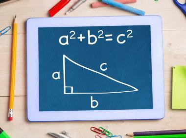 A relação fundamental da Trigonometria é baseada no teorema de Pitágoras