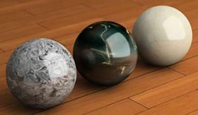 O mármore é usado para decorar ambientes.