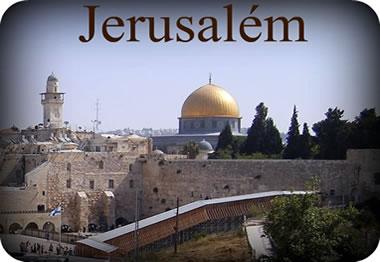 """Jerusalém, considerada cidade """"santa"""", retornou para os judeus com a criação do Estado de Israel no ano de 1948."""