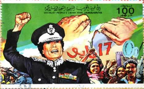 Muammar Gaddafi controlou a Líbia por mais de quatro décadas.*