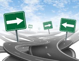 Diferença entre direção e sentido