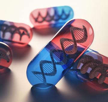 A terapia gênica visa à modificação de um gene defeituoso por meio da inserção de um gene normal