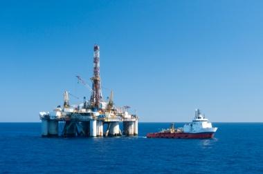 Extração de Petróleo no litoral brasileiro