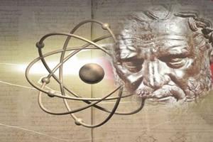 Filósofos gregos estudaram a estrutura atômica.