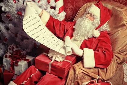 Papai Noel, um dos muitos símbolos do Natal.