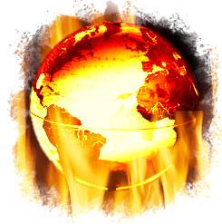 Um intenso aquecimento do planeta