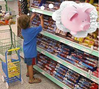 Crianças aprendem facilmente sobre economia